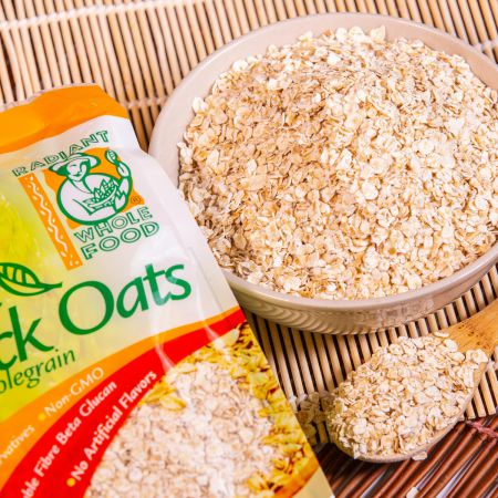 Radiant Organic Quick Oats (500g)