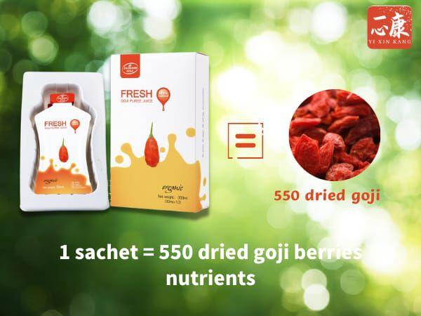 Organic Goji Puree Juice (1 box)