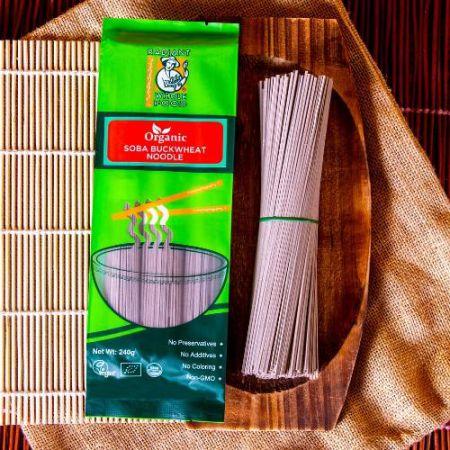 Radiant Organic Soba Buckwheat Noodle (240g)