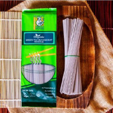 Radiant Green Tea Buckwheat Noodle (240g)