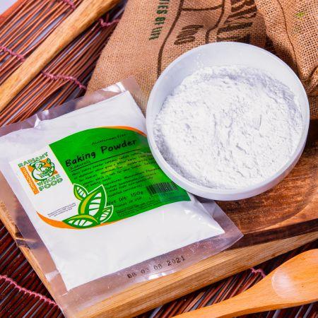 Radiant Baking Powder. Aluminium Free & Non Gmo (150g)