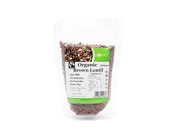 Organic Brown Lentil (Whole)