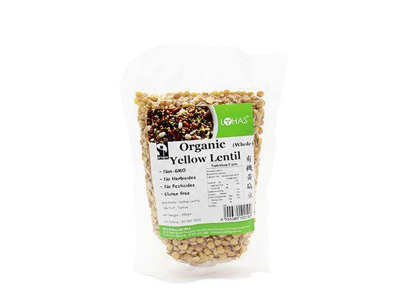 Organic Yellow Lentil (Whole)