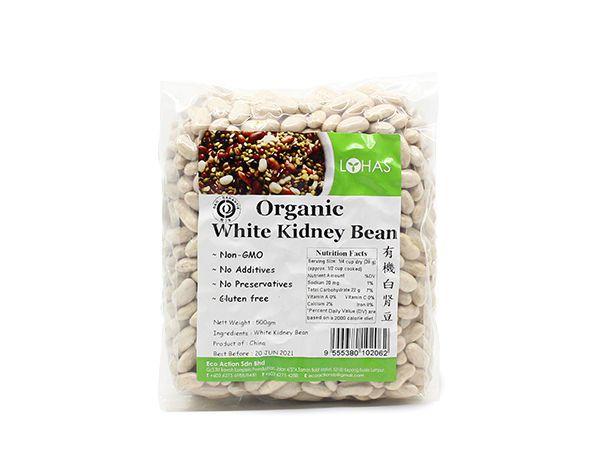 Organic White Kidney Bean