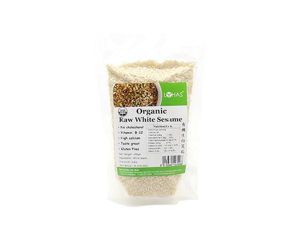 Organic Raw White Sesame