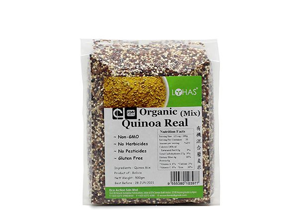 Organic Quinoa Real