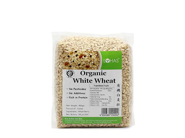 Organic White Wheat