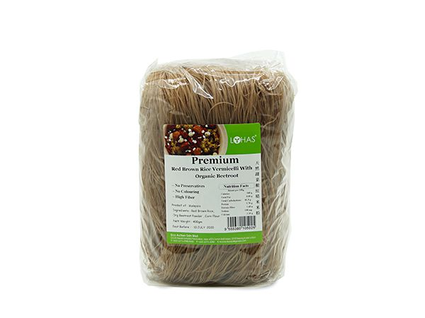 Premium Red Brown rice with Beetroot Vermicelli