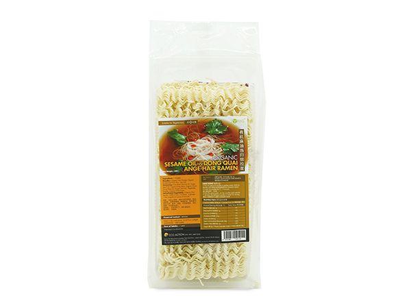 Organic Sesame Oil & Dong Quai Angel-Hair Ramen