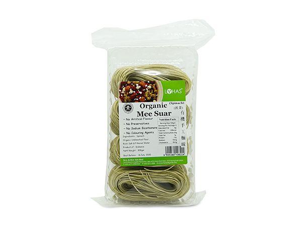 Organic Spinach Mee Suar