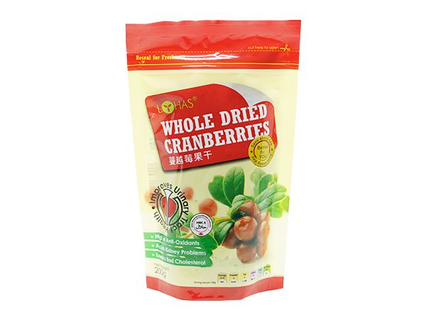 Whole Dried Natural Cranberry