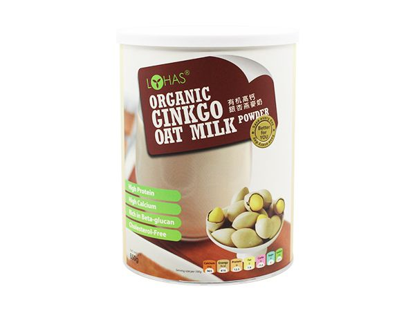 Organic Ginkgo Oat Milk Powder