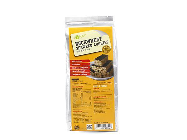 Buckwheat Seaweed Crackers