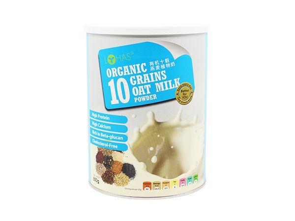 Organic Ten Grain Oat Milk Powder