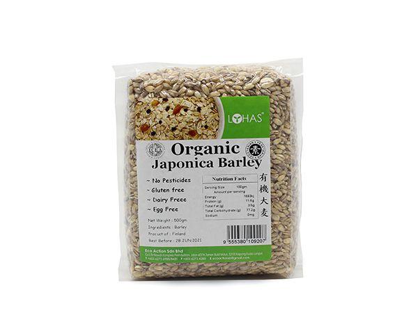 Organic Japonica Barley