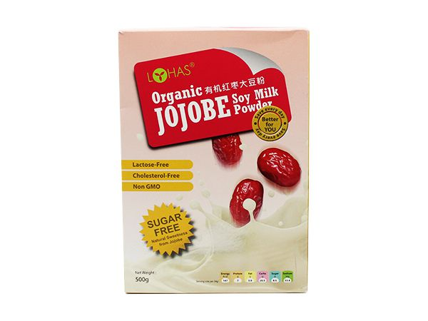 Organic Jojobe Soy Milk Powder