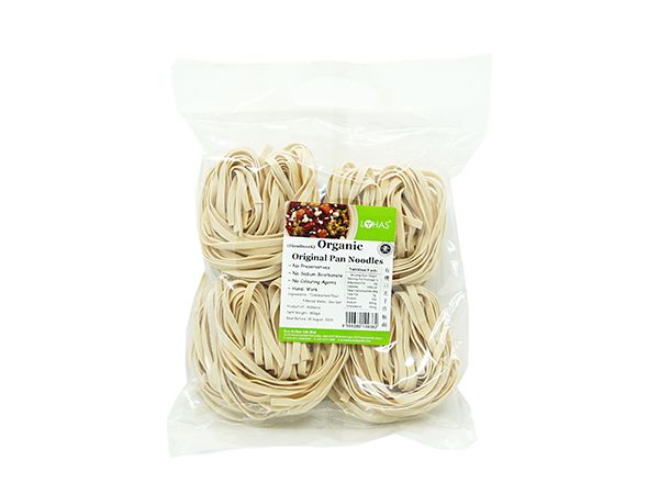 Organic Pan Noodles - Handiwork