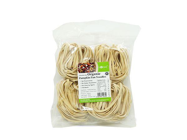 LOHAS Organic Pumpkin Pan Noodles - Handiwork