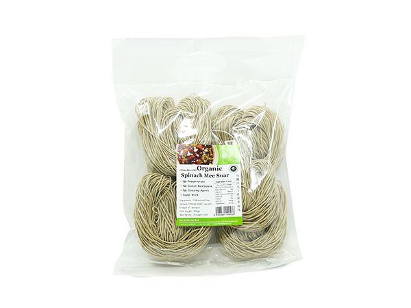Organic Spinach Mee Suar - Handiwork