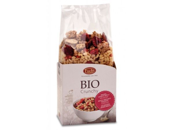 FUCHS Organic Crunchy Mueli with Red Fruits 350g