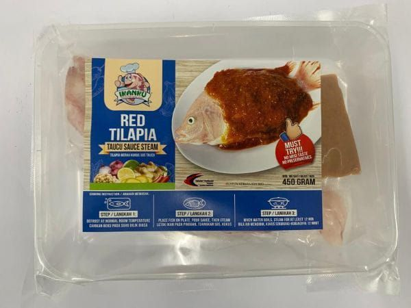 Ikanku Red Tilapia Fish Taucu Steam