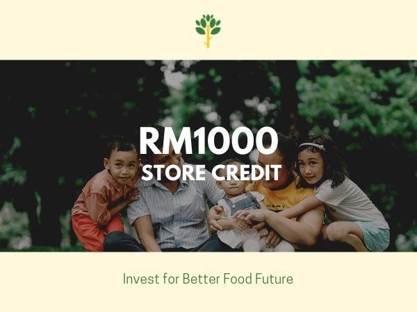 Everleaf Credit Points (worth RM 1000)
