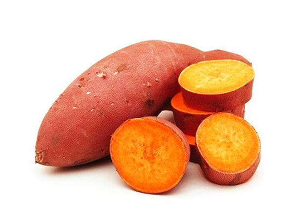 Organic Orange Sweet Potato (Purple Skin) 500g