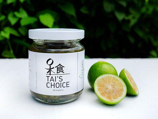 Tai's Choice Organic Calamansi Jam (180ml)