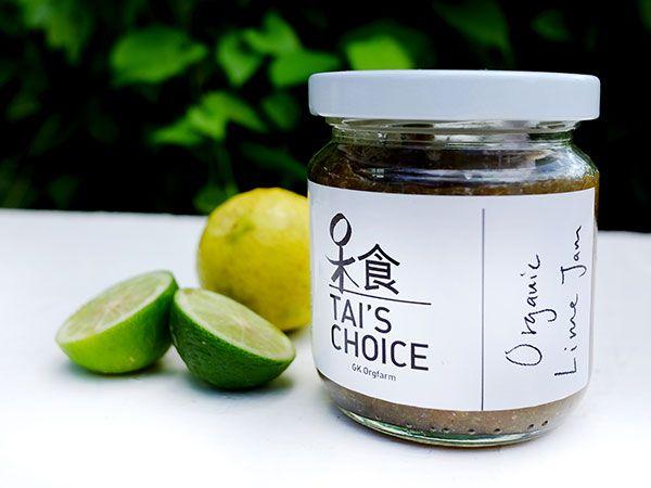 Tai's Choice Organic Lime Jam (180ml)