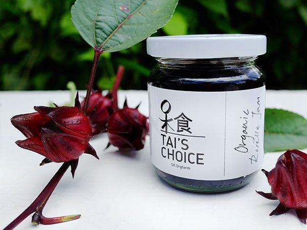 Tai's Choice Organic Roselle Jam (180ml)