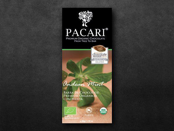 Pacari Andean Mint Organic Chocolate (60%)