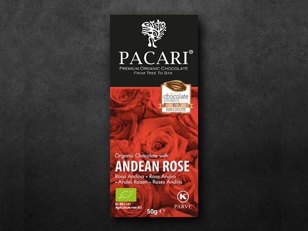 Pacari Andean Rose Organic Chocolate (60%)