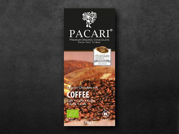 Pacari Coffee Organic Chocolate (60%)