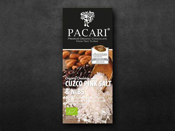 Pacari Salt & Nibs Organic Chocolate (60%)
