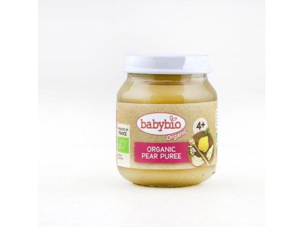 Babybio Pear (fr 4 mths), 130g