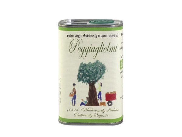 Poggiagliomi Organic Extra Virgin Olive Oil, 250ml