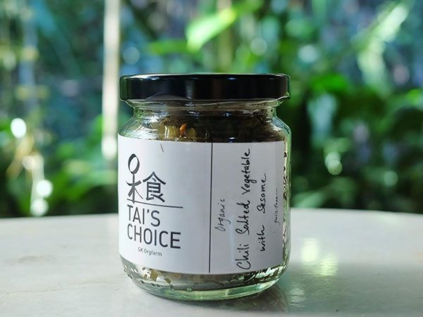 Tai's Choice Organic Chili Salted Vegetable with Sesame