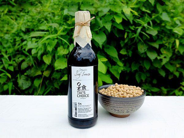 Tai's Choice Organic Soy Sauce (500ml)